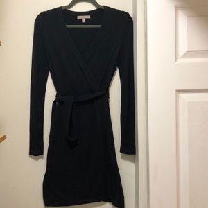Banana Republic Factory Wrap-Type Sweater Dress